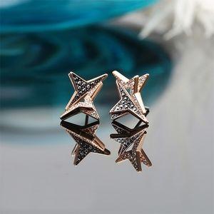 SWAROVSKI STAR EARRINGS